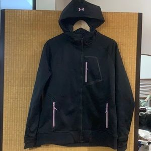 Cold gear infrared hoodie with magzip